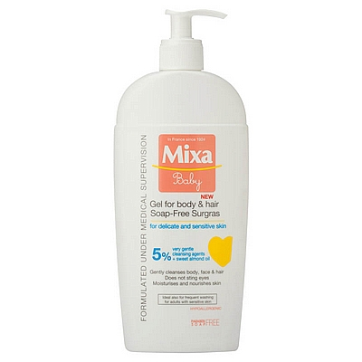 Mixa baby gel kupanje 2u1, 250 ml