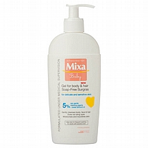 Mixa baby gel kupanje 2u1, 400 ml