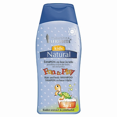 Afrodita Kids 2u1 šampon Fun&Play, 200 ml