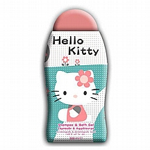 Šampon i gel za tuširanje Hello Kitty, 300 ml