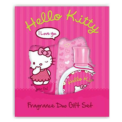 Duo set za njegu 50 ml edt i gel za tuš Hello Kitty, 150 ml