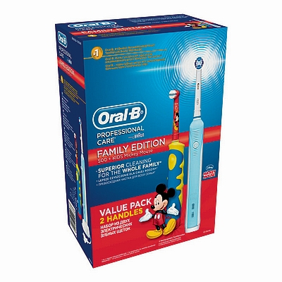 Oral B električna zubna cetkica pc 500 + kids Mickey