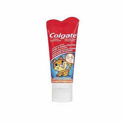 Colgate dječja pasta za zube Smiles, 0-6 god, 50 ml