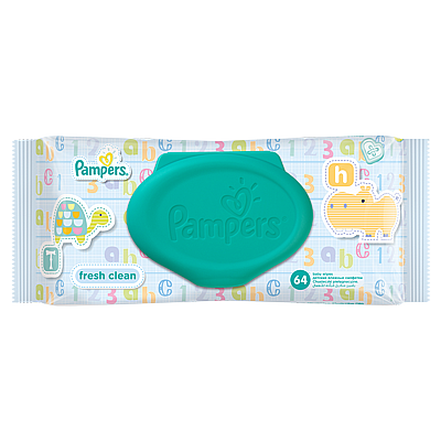 Pampers vlažne maramice Fresh Clean, 64 kom