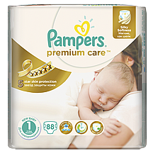 Pampers pelene Premium care Newborn, vel.1, 2-5 kg, 88 kom