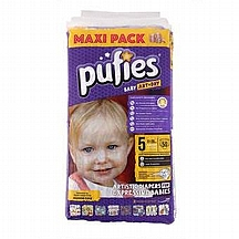 Pufies pelene Art&Dry Junior, vel. 5, 11-20 kg, value pack, 40 kom