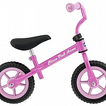 Chicco bicikl bez pedala Pink Arrow, 10 cola