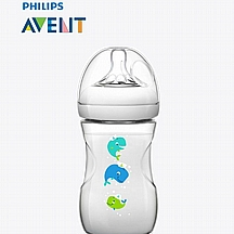 Avent bočica za hranjenje Natural PP, 260 ml, Kit